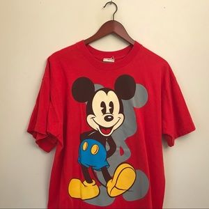 Vintage Mickey Mouse big graphic tee